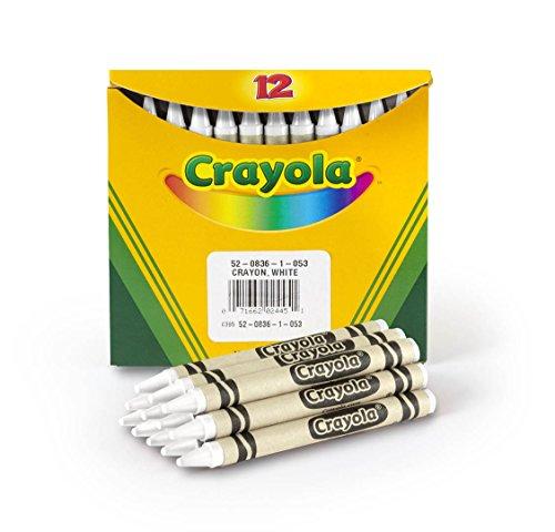 (Crayola 52-0836-053, Standard, White)