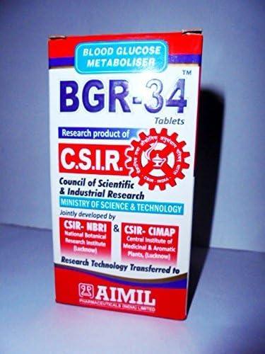 aimil productos farmacéuticos diabetes bgr 34