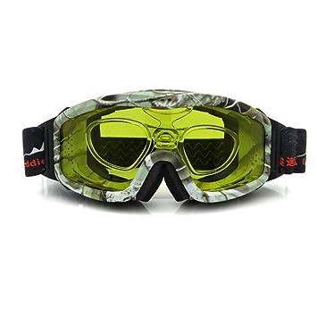 HCMONSTER Gafas de Esqui de visión Nocturna, Gafas de Sol de ...