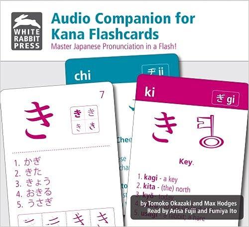 }WORK} Audio Companion For Kana Flashcards (Japanese Edition). Trump Table codes external ofertas Neutral realized