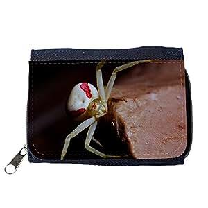 le portefeuille de grands luxe femmes avec beaucoup de compartiments // M00289935 Araña cangrejo araña arácnido macro // Purse Wallet