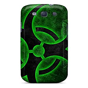 Premium Biohazard Hd Heavy-duty Protection Case For Galaxy S3