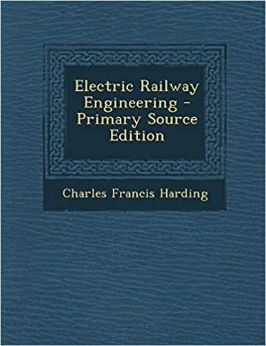 Book Electric Railway Engineering - Primary Source Edition