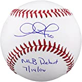 Adam Jones Baltimore Orioles Autographed Baseball with MLB Debut 7-14-06 Inscription - Fanatics Authentic Certified
