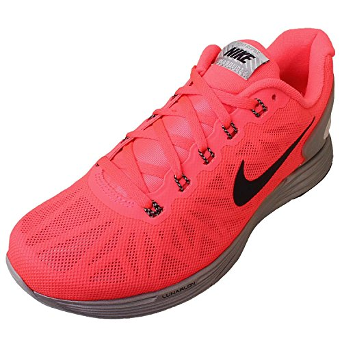 the best attitude d49d1 68252 NIKE WMNS LUNARGLIDE 6 FLASH Sneakers Running Shoes 683652-600 Pink 7 B(M)  US  Buy Online at Low Prices in India - Amazon.in