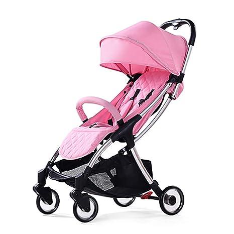 Ultraligera Viaje Cochecito de bebe, Plegable Baby Desde el nacimiento Cochecitos Seguro Cómoda Compacto Tienda
