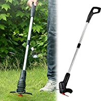 Seesii Portable Electric Grass Trimmer Handheld Lawn Mower Agricultural Household Cordless Weeder Garden Pruning Tool…