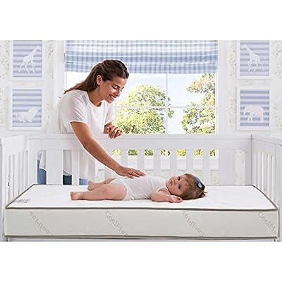 Simmons Beautyrest Beginnings Black Brilliant Sun Crib and Toddler Mattress