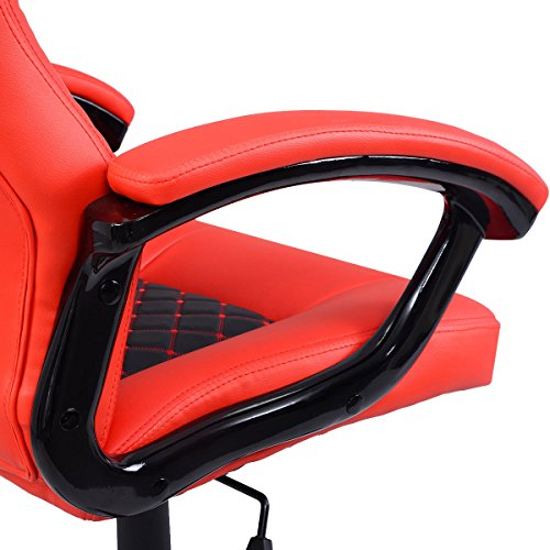 video game chair racing gaming chair race seat kids adult bucket office work furniture high back. Black Bedroom Furniture Sets. Home Design Ideas