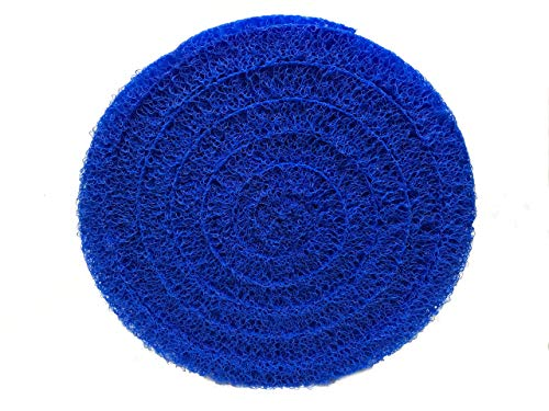 Matala Round Pond Filtration Media for Koi Ponds and Water Gardens R18BLU – 18″ Blue – High Density
