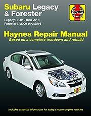 Subaru Legacy 2010 thru 2016 & Forester 2009 thru 2016 Haynes Repair Manual