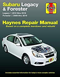Image of the product Subaru Legacy 10 16 & that is listed on the catalogue brand of Haynes Manuals N. America.