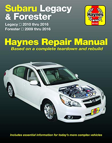 Subaru Legacy (10-16) & Forester (09-16) (Haynes Automotive)