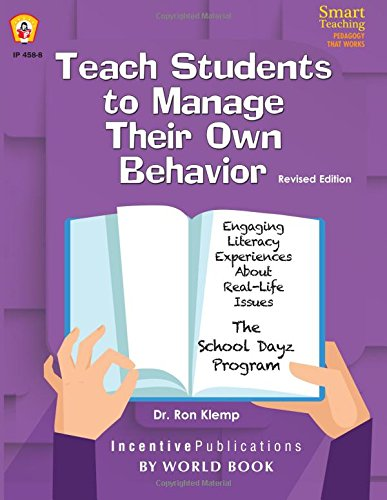 Teach Students to Manage Their Own Behavior