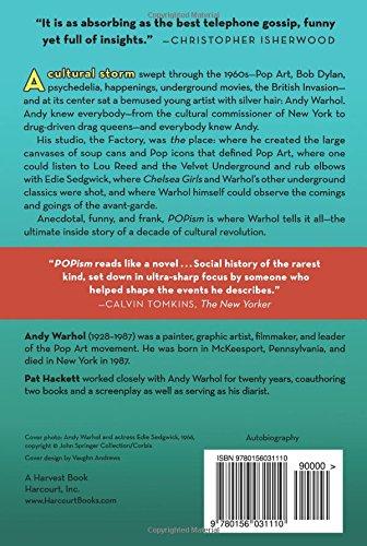 POPism: The Warhol Sixties: Amazon.es: Andy Warhol, Pat Hackett: Libros en idiomas extranjeros