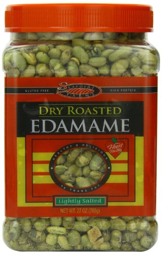 Seapoint Farms Dry Roasted Edamame, Sea Salt, 27 Ounce
