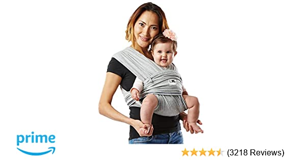 Baby K Tan Original Baby Wrap Carrier Infant And Child Sling Simple Wrap Holder For Babywearing No