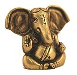 Ganesh / Ganesha / Ganpati Wisdom and Wealth Statue Art Sculpture Metal Brass India