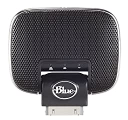 Blue Mikey Digital Recording Microphone for Apple iPhone and iPad