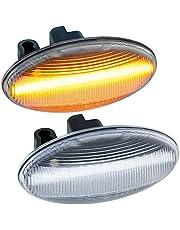 rm-style LED-sidoindikator kompatibel med 107, 108, 1007, 206, 307, 407, 607 klart glas
