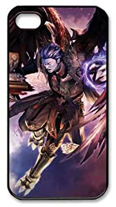 LZHCASE Personalized Protective Case for iphone 4/4s - Fragile Existence Video Games Aion