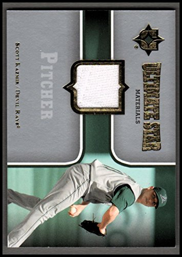 2007 Ultimate Collection Ultimate Star Materials #SK Scott Kazmir JERSEY
