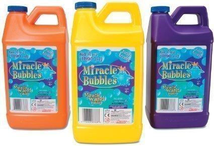 Miracle Bubbles Solution Refill 64-Ounce Bottle (4) [並行輸入品] B078WWL223
