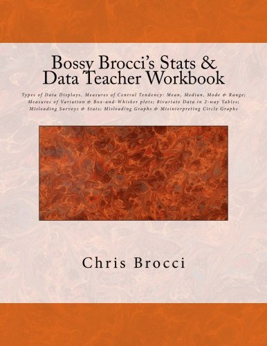 Amazon.com: Bossy Brocci's Stats & Data Teacher Workbook: Types of ...