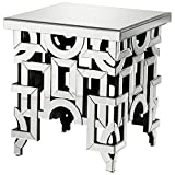 Cyan Design 07909 Volos Side Table in Clear,