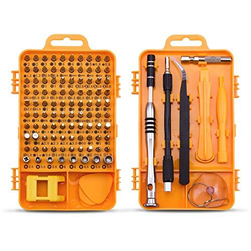 Screwdriver Set Repair Tool Kit - 108 in 1 Small Multi Screw