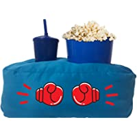 Almofada Porta Pipoca Azul Infantil Luva Box Cor:Azul