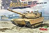 1 35 abrams - Meng 1:35 USMC M1A1 AIM Abrams Main Battle Tank - Plastic Model Kit #TS032
