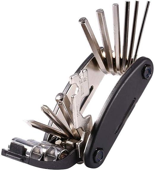GYKFY Kit de Herramientas de reparación mecánica para Bicicletas ...