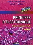 Electronique Best Deals - PRINCIPES D'ÉLECTRONIQUE : COURS EXERCICES ET PROBLÈMES RÉSOLUS 7ED.