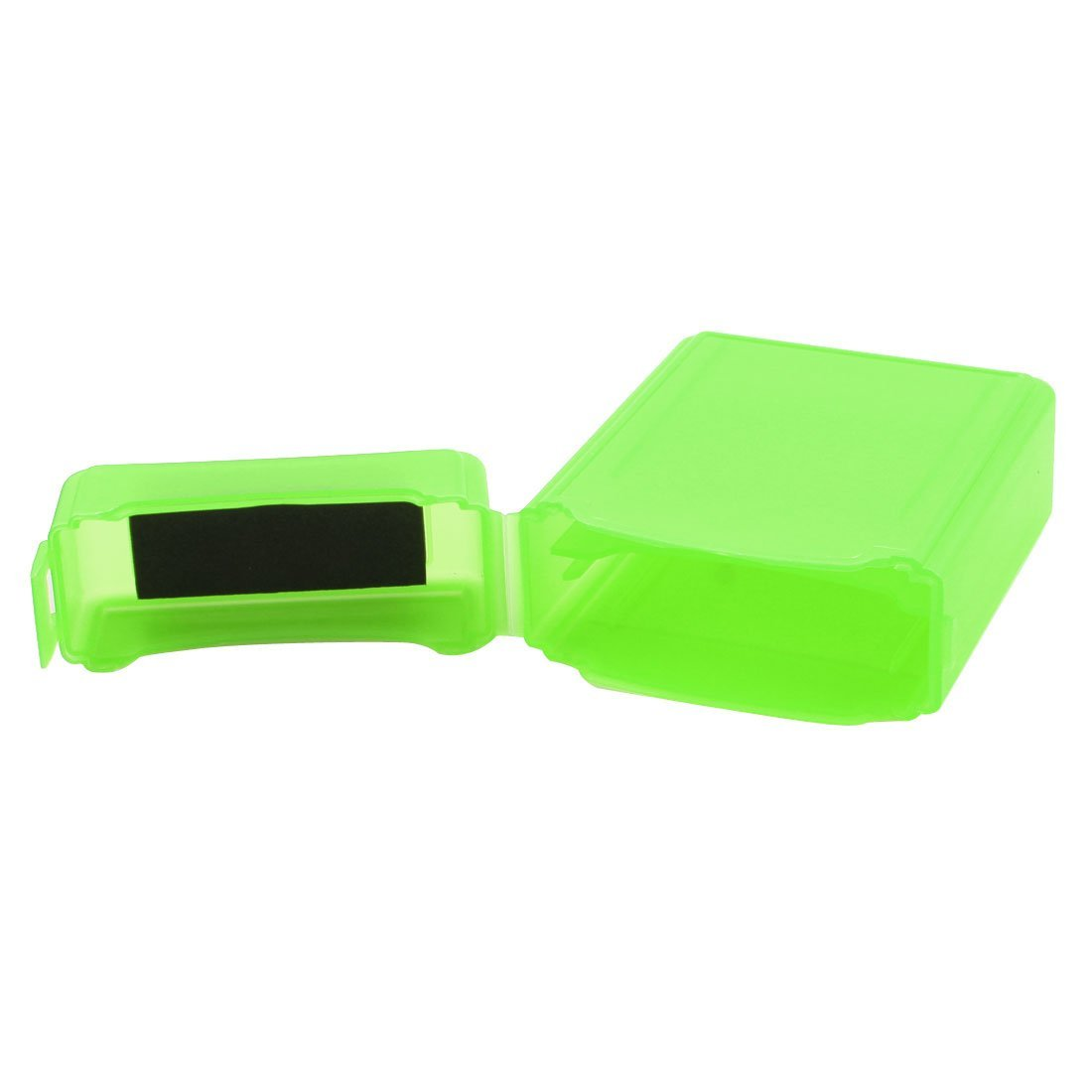 Amazon.com: eDealMax plástico HDD portátil externa protectora de almacenamiento Caja Verde Para el ordenador portátil DE 2,5 pulgadas Disco Duro: ...