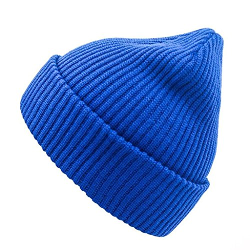 Otoño de Sombrero Hat e Invierno ZHAS Hip blue Peludo Exterior Hop punto moda Gorro B5xwqzaA