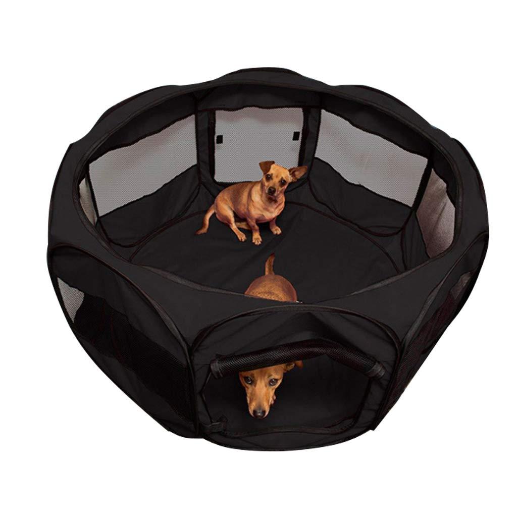 LCY Gran Mascota Perro Valla Ocho Cara Tienda Oxford Tela Impermeable Anti-arañazos Perro Gato Nido Maternidad Ward (Color : Brown): Amazon.es: Productos ...