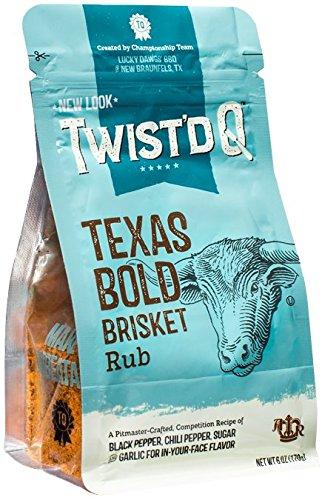 Texas Bold Brisket Rub - Lucky Dawgs BBQ - Twist