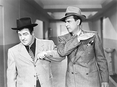 Here Come The Co-Eds From Left Lou Costello Bud Abbott 1945 Photo Print (14 x 11)