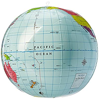 Learning Resources Inflatable 11 inch Globe: Toys & Games