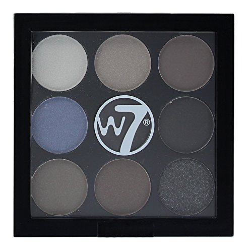 W7 Eyeshadow Palette The Naughty Nine Shades of Eye Colour -