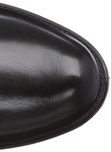 Caprice 25540 - Botas de cuero para mujer negro (black/cognac 31)