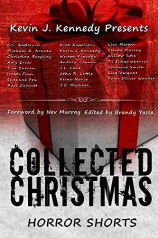 book cover of Collected Christmas Horror Shorts