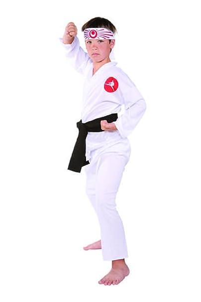 Amazon.com: ovedcray Karate Niño Kid trajes japoneses ninja ...