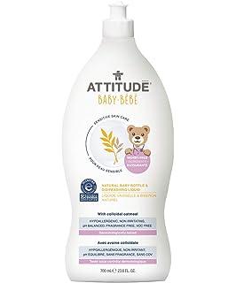 Amazon.com: Actitud bebé botella y líquido de lavado sin ...
