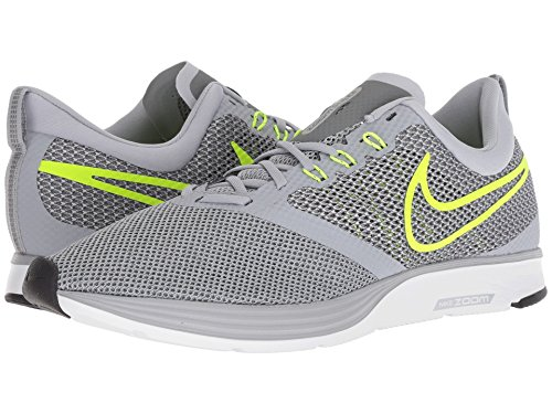 [NIKE(ナイキ)] メンズランニングシューズ?スニーカー?靴 Zoom Strike Wolf Grey/Volt/Cool Grey/Oil Grey 14 (32cm) D - Medium