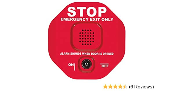 Safety Technology International STI-6400 Exit Stopper Multifunction Door Alarm, Helps Prevent Unauthorized Exits or Entries Through Emergency Doors (2 ...
