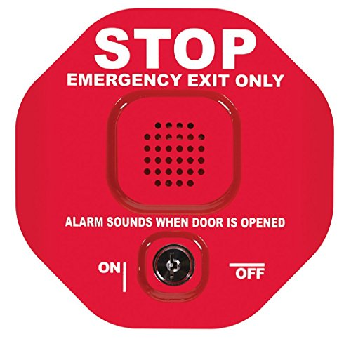 Safety Technology International STI-6400 Exit Stopper Multifunction Door Alarm, Helps Prevent Unauthorized Exits or Entries Through Emergency Doors (2 Pack)