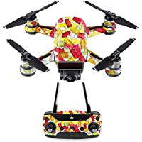 Skin for DJI Spark Mini Drone Combo - Gummy Bears| MightySkins Protective, Durable, and Unique Vinyl Decal wrap cover | Easy To Apply, Remove, and Change Styles | Made in the USA