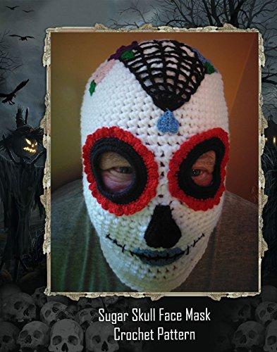 [Sugar Skull Face Mask Crochet Pattern] (Ski Costumes)